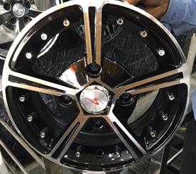 ATV Alloy wheel 4