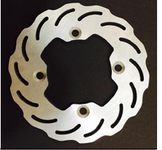 Brake disc 150mm type 2