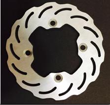 Brake disc 150mm type 2