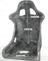 Go-kart bucket seat Type-2